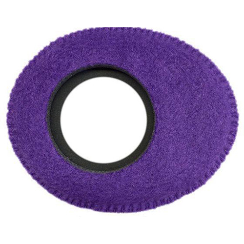 Bluestar Viewfinder Eyecushion -  Oval Extra Small, Fleece (Purple)