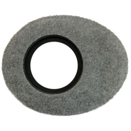 Bluestar Viewfinder Eyecushion -  Oval Extra Small, Fleece (Grey)