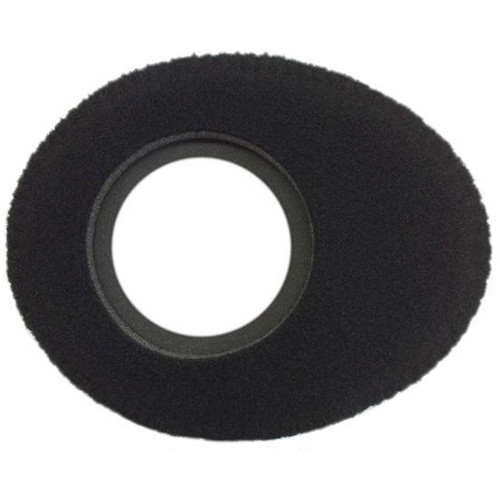 Bluestar Viewfinder Eyecushion -  Oval Extra Small, Fleece (Black)