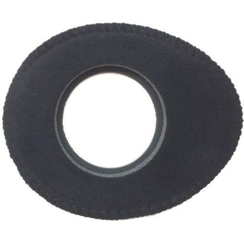 Bluestar Viewfinder Eyecushion -  Oval Extra Small, Ultrasuede (Black)