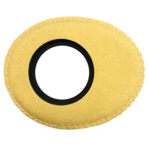 Bluestar Viewfinder Eyecushion -  Oval Extra Small, Ultrasuede (Natural)