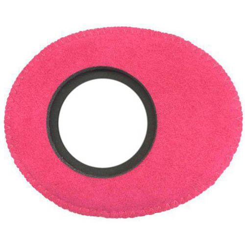 Bluestar Viewfinder Eyecushion -  Oval Extra Small, Ultrasuede (Pink)