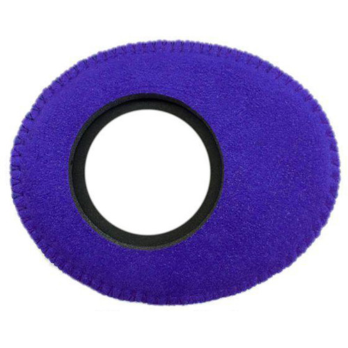 Bluestar Viewfinder Eyecushion -  Oval Extra Small, Ultrasuede (Purple)