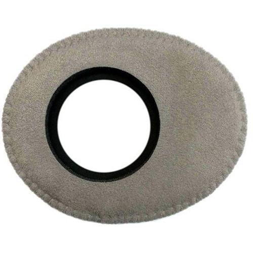 Bluestar Viewfinder Eyecushion -  Oval Extra Small, Ultrasuede (Grey)