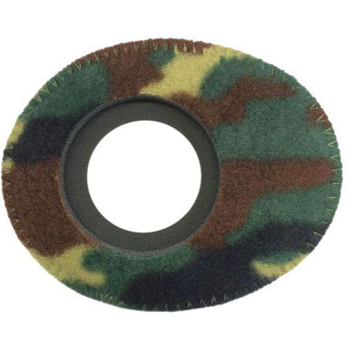 Bluestar Oval Small Viewfinder Eyecushion (Fleece, Camo)