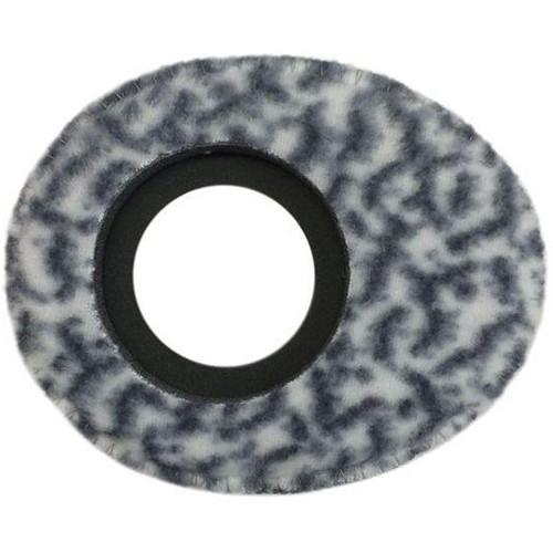 Bluestar Oval Small Viewfinder Eyecushion (Fleece, Snow Leopard)