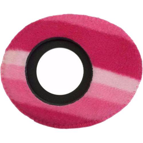 Bluestar Oval Small Viewfinder Eyecushion (Fleece, Candy Cane)