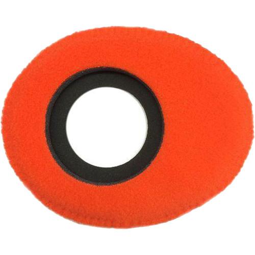 Bluestar Oval Small Viewfinder Eyecushion (Fleece, Orange)