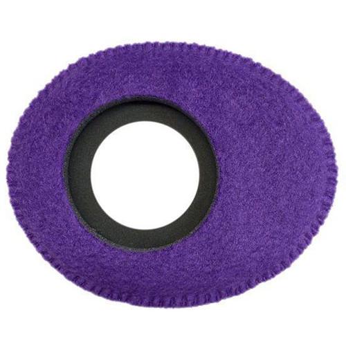 Bluestar Oval Small Viewfinder Eyecushion (Fleece, Purple)