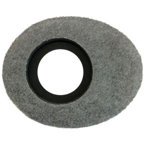 Bluestar Oval Small Viewfinder Eyecushion (Fleece, Gray)