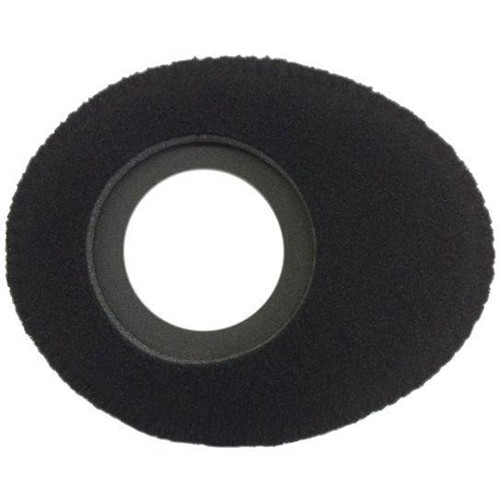 Bluestar Oval Small Viewfinder Eyecushion (Fleece, Black)