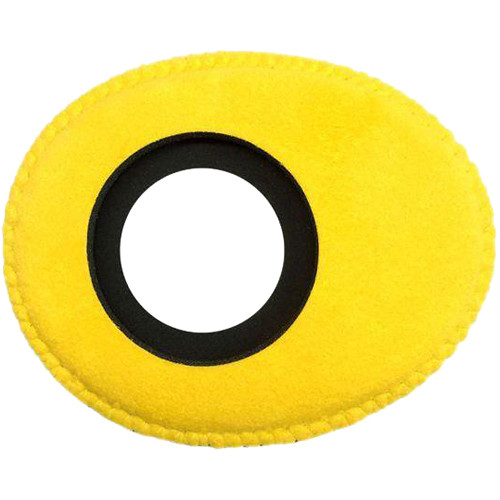Bluestar Viewfinder Eyecushion -  Oval Small, Ultrasuede (Yellow)
