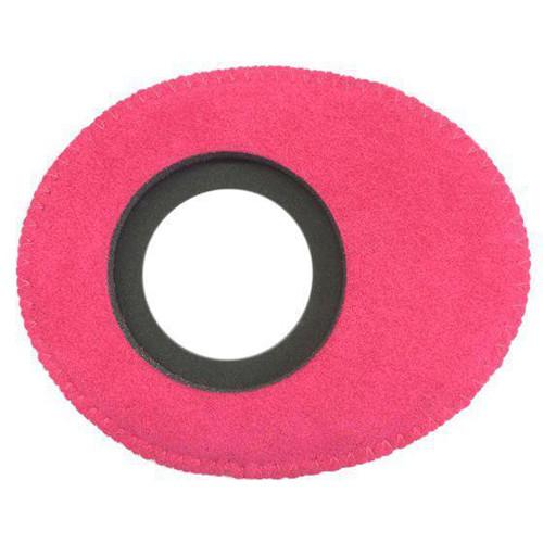 Bluestar Oval Small Viewfinder Eyecushion (Ultrasuede, Pink)