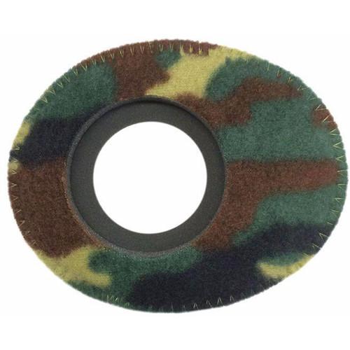 Bluestar Oval Large Viewfinder Eyecushion (Fleece, Camo)