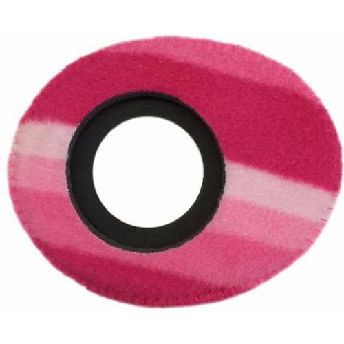 Bluestar Oval Large Viewfinder Eyecushion (Fleece, Candy Cane)