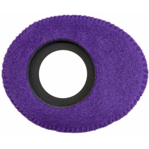 Bluestar Oval Large Viewfinder Eyecushion (Fleece, Purple)