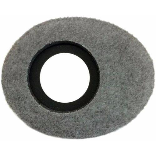 Bluestar Oval Large Viewfinder Eyecushion (Fleece, Gray)