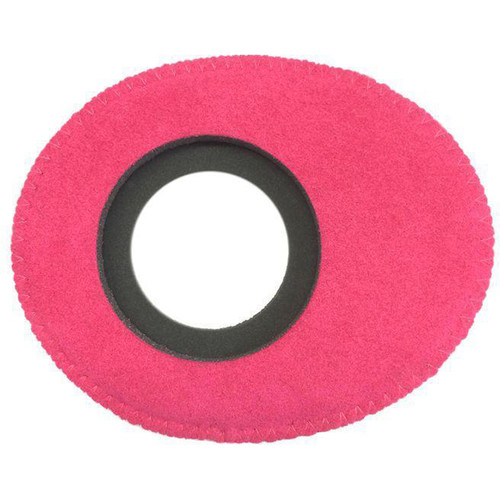 Bluestar Oval Large Viewfinder Eyecushion (Ultrasuede, Pink)