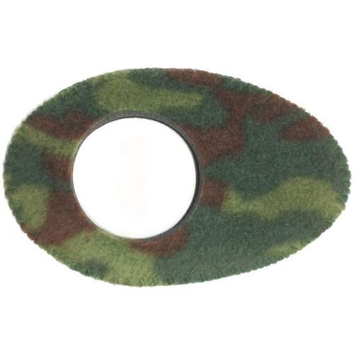 Bluestar Oval Long Viewfinder Eyecushion (Fleece, Camo)