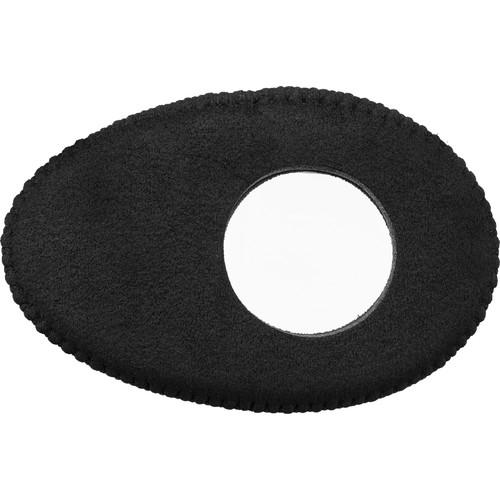 Bluestar Oval Long Viewfinder Eyecushion (Ultrasuede, Black)
