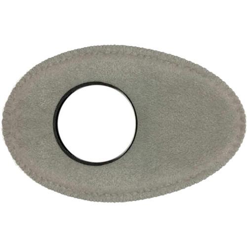 Bluestar Oval Long Viewfinder Eyecushion (Ultrasuede, Gray)