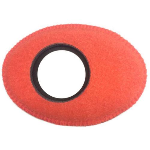 Bluestar Oval Extra Large Viewfinder Eyecushion (Fleece, Peach)