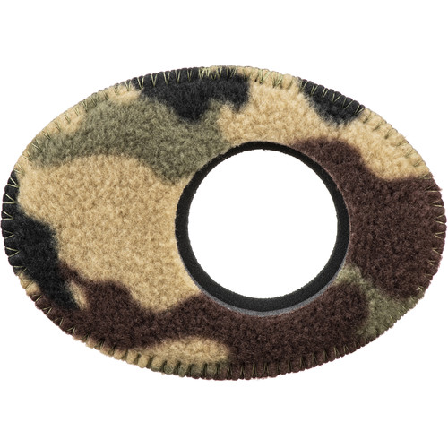 Bluestar Oval Extra Large Viewfinder Eyecushion (Fleece, Camo)