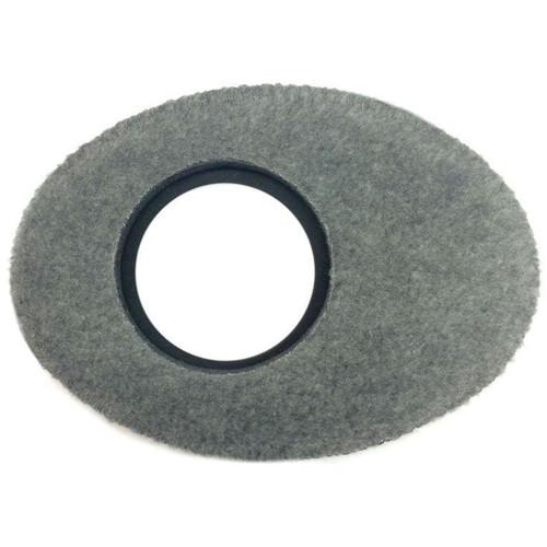 Bluestar Oval Extra Large Viewfinder Eyecushion (Fleece, Gray)
