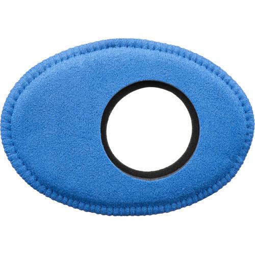Bluestar Oval Extra Large Viewfinder Eyecushion (Ultrasuede, Blue)