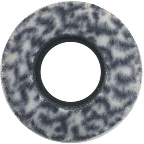 Bluestar Mid Round Viewfinder Eyecushion for ALEXA & AMIRA (Fleece, Snow Leopard)