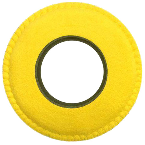 Bluestar Mid Round Viewfinder Eyecushion for ALEXA & AMIRA (Ultrasuede, Yellow)