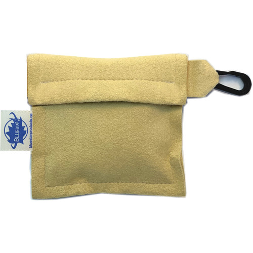 Bluestar Lens Cleaning Cloth with Ultrasuede Natural Storage Pouch