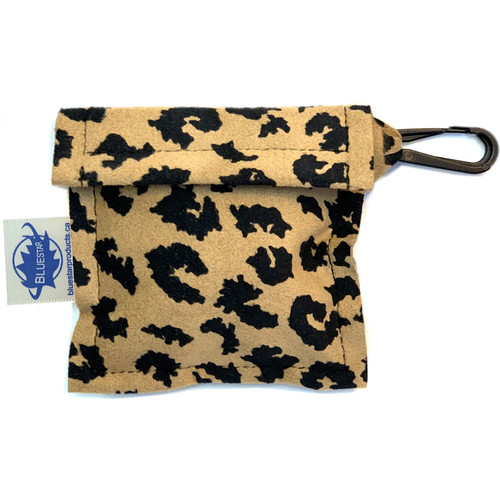 Bluestar Lens Cleaning Cloth with Ultrasuede Baby Jaguar Storage Pouch
