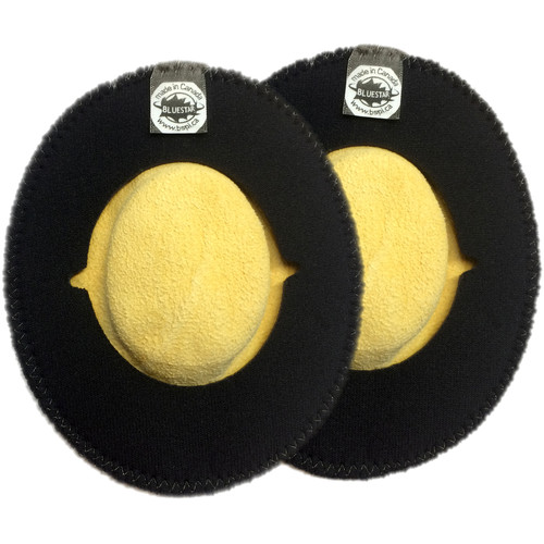 Bluestar CanSkins Earcup Covers for Sony MDR-7506 Headphones (Pair, Genuine English Chamois)
