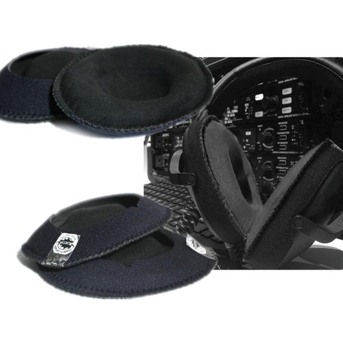 Bluestar CanSkins Earcup Covers for Sony MDR-7510 Headphones (Pair, Black)