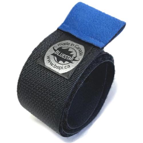 """Bluestar Premium 13"""" Hook-And-Loop Cable Ties (5 Pack, Blue)"""