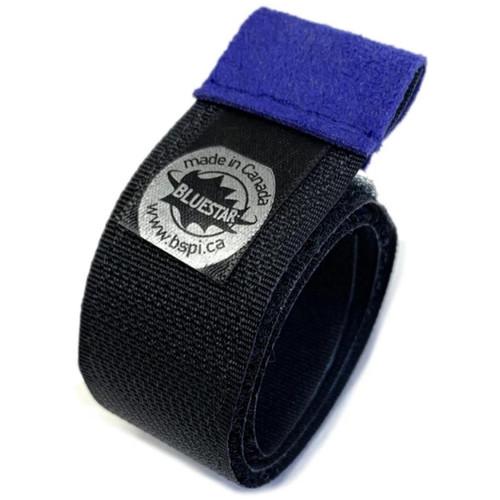 """Bluestar Premium 13"""" Hook-And-Loop Cable Ties (5 Pack, Purple)"""