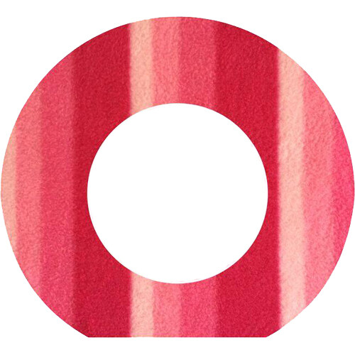 Bluestar Fleece Viewfinder Eyecushion for Leica S (Typ 007) Camera (Candy Cane)