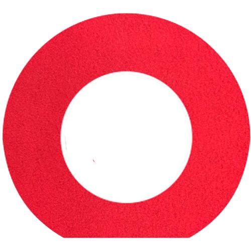 Bluestar Fleece Viewfinder Eyecushion for Leica S (Typ 007) Camera (Red)