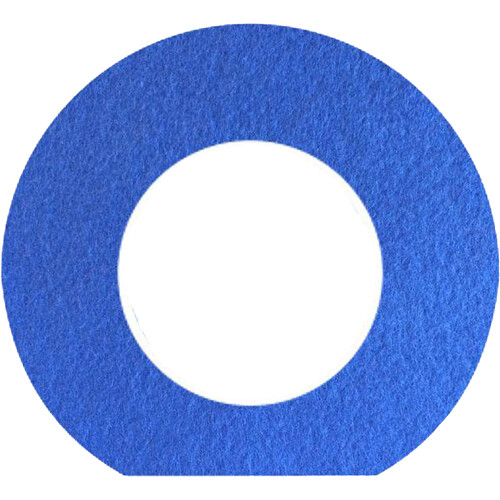 Bluestar Fleece Viewfinder Eyecushion for Leica S (Typ 007) Camera (Blue)