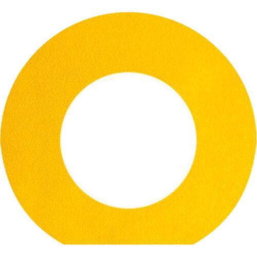 Bluestar Ultrasuede Viewfinder Eyecushion for Leica S (Typ 007) Camera (Yellow)