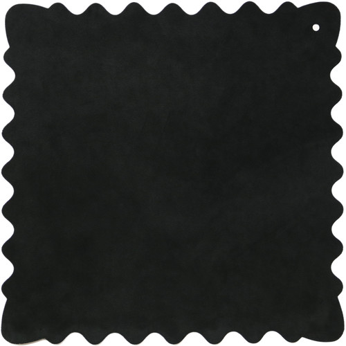 "Bluestar Ultrasuede Cleaning Cloth (Black, Small, 8 x 8"")"