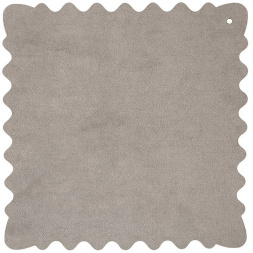 """Bluestar Ultrasuede Cleaning Cloth (Gray, Small, 8 x 8"""")"""