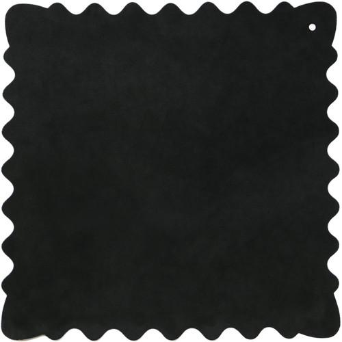 """Bluestar Ultrasuede Cleaning Cloth (Black, Medium, 10 x 10"""")"""