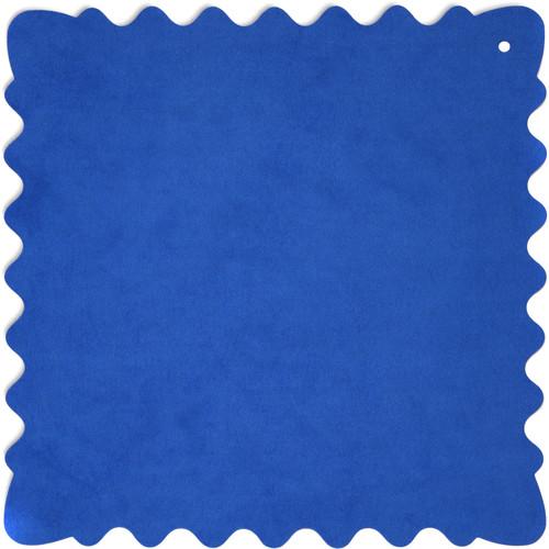 """Bluestar Ultrasuede Cleaning Cloth (Blue, Medium, 10 x 10"""")"""
