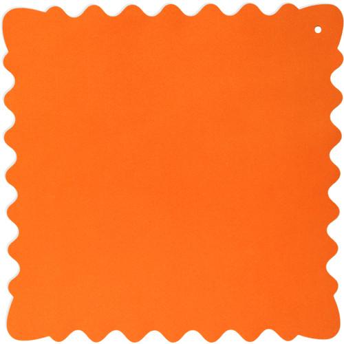 """Bluestar Ultrasuede Cleaning Cloth (Orange, Medium, 10 x 10"""")"""