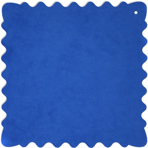 """Bluestar Ultrasuede Cleaning Cloth (Blue, Large, 12 x 12"""")"""
