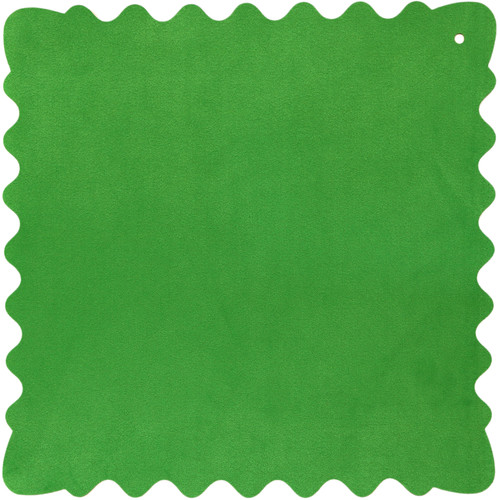 """Bluestar Ultrasuede Cleaning Cloth (Green, Large, 12 x 12"""")"""