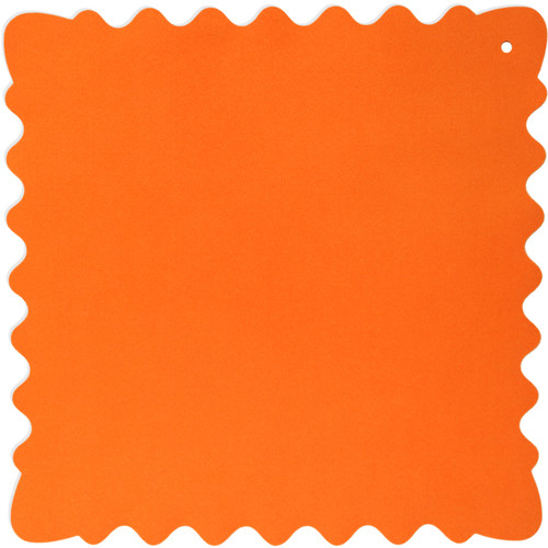 "Bluestar Ultrasuede Cleaning Cloth (Orange, Large, 12 x 12"")"