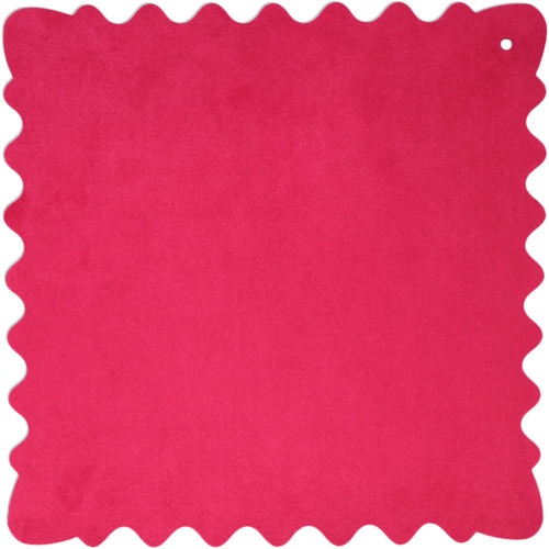 """Bluestar Ultrasuede Cleaning Cloth (Pink, Large, 12 x 12"""")"""